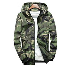 Fashion Men Camouflage Military Jacket Bomber Tactical Windbreaker Hooded Jacket
