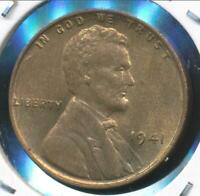 United States, 1941 Lincoln Cent, Wheat Reverse - Uncirculated