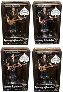Motorhead Lemmy Kilmister Deluxe Action Figure Set Of 4