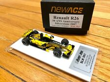 1/43 Newace New Ace built tameo RENAULT R26 F1 Silverstone 2007 GP 30th ANS