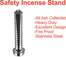 SAFETY AGARBATTI INCENSE MULTIPLE STICK HOLDER STAND AGARBATTI HOLDERS-STEEL