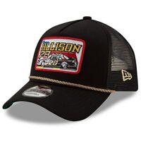 Davey Allison New Era 9FORTY A-Frame Trucker Mesh Adjustable Snapback Hat -