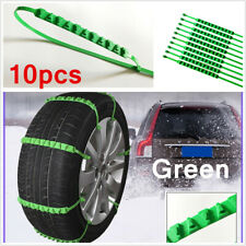 10PCS 90cm Snow Tire Chain for Car Truck SUV Anti-Skid Emergency Winter Driving