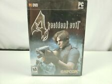 Resident Evil  PC DVD-ROM 2006 Capcom New Sealed
