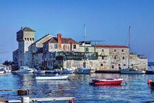 Strand Urlaub Kroatien,3* Ferienhaus,Haus am Meer für 5-7 Pers. in Kastela-Split