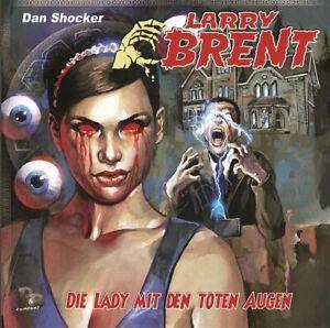 CD Larry Brent Folge 41 Die Lady mit den toten Augen Cd