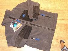BNWT Snozu Boys Fleece Jacket - Colour Black & Red or heather grey & blue s/m