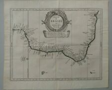 Brasil old map Brasilia Joannes De Laet