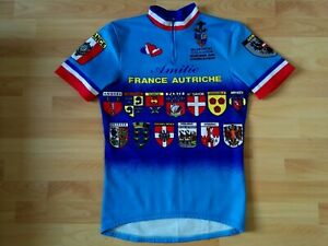 Milanosport COLNAGO Short Sleeve Vintage Cycling Jersey Size: 4~M  VERY RARE !