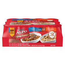 Purina Alpo Gravy Cravers Variety Adult Wet Food - Pack of 12