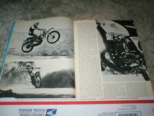 1973 Honda CR125M Elsinore Cycle Road Test Article  8 pages