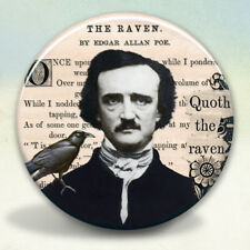 Edgar A. Poe Raven Pocket Mirror tartx