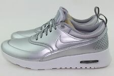 NIKE AIR MAX THEA SPECIAL EDITION WOMAN SIZE 9.0 METALLIC SILVER NEW RARE STYLE