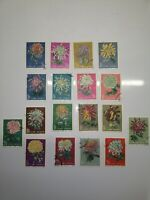 Chinese Stamps 1960 S44 Chrysanthemums S 542-559 Complete Set (3 Issues)Original