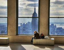 "New York City Skyline Print 14 x 11"""