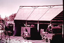 Victorian Railways Steam R722 R765 K156 K157 Stored at Seymour Roundhouse 1966