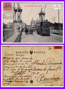 POSTAL VALENCIA. Puente del Mar