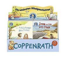 6 Mini Lino Bücher Die schönsten Bibelgeschichten Mini Bilderbücher ab 3 + BONUS