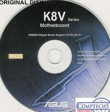ASUS GENUINE VINTAGE ORIGINAL DISK FOR SK8V K8V-MX K8V K8V DELUXE Disk M425