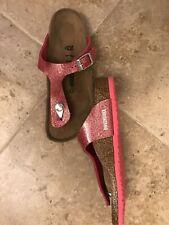 Birkenstock Kids' Gizeh Birko-Flor Sandals Magic Galaxy Pink 34 N