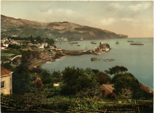 P. Z. Portugal, Madeira, Funchal Bay from west Vintage print photochromie, vin