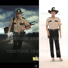 The Walking Dead season 4 Sheriff Rick Grimes Uniform Adult Halloween Costume