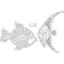 FISH Tropical Fancy Fish Die Cutting Dies PENNY BLACK 51-314 New