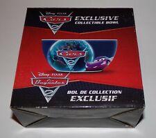 Disney Pixar Cars 2 Exclusive Collectible Bowl - New In Box RARE