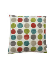 """16""""  Large Green spots design scatter cushion covers pillow sham made in UK"""