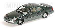 """Mercedes Benz 600 SEC Coupé (C140) """"Green Metallic"""" 1992 (Min 1:43 / 430 032604)"""