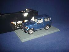 Toyota Land Cruiser LJ70 Metal Blue 1986 NEO43999  for VVM 1:43