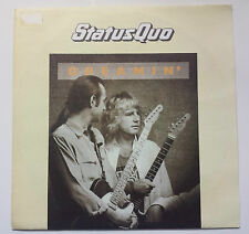 "STATUS QUO ""DREAMIN'"" RARE SPANISH  7"" VINYL AS NEW - ROSSI / FROST"