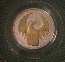 2017 Cook Islands 1-oz Silver Fantastic Beasts High Relief Proof Gold Only 1,000
