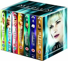 MEDIUM 1-7 (2005-2011): COMPLETE Psychic Drama TV Season Series -  DVD NEW UK