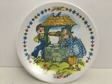 Jack And Jill Went Up A Hill Childrens Melamine Plate Plastic