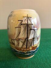 New listing Rare Royal Doulton 'Famous Ships' Vase D5957 Endeavour stamped 8271 Vintage