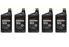 New 5 Quarts Pack Motor Oil 5W-20 Synthetic Blend OES 08798-9032 for Honda