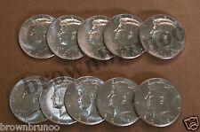 2015 Kennedy Half Dollars 50¢ Uncirculated Philadelphia Denver 10 Coins 5P & 5D