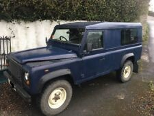 Land Rover Defender TD5 110 Hardtop project MOT til 03/19