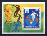 S5414) Niger 1978 MNH W.C.Football - Undisputed Del Mondo Football S/S
