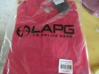 LAPG LA Police Gear Operator Tactical Polo Shirt Red Size Small NEW