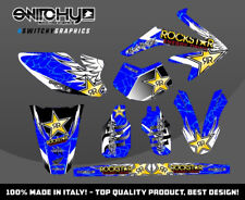 KIT ADESIVI GRAFICHE WINGS BLUE HM DERAPAGE 50 COMPETITION  2011 - 2015 DECALS