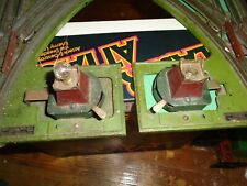 Prewar LIONEL 021 MANUAL SWITCHES Left + Right O Ga Train Railroad RR Track