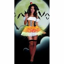 DREAMGIRL 7467  Womens Sexy Candy Corn Cutie Costume Lightup several sizes