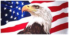 "30"" x 60"" American Eagle Velour Beach Towel"