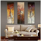 Modern Wall Art Abstract hand-painted Oil Painting On Canvas 3pcs (no framed)