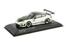 PORSCHE 911 997 GT3 RSR #09 PRESENTATION 2009 WHITE BLACK MINICHAMPS 400096909