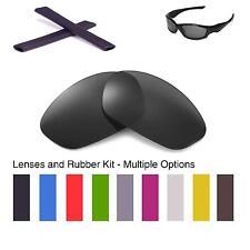 Walleva Lenses and Earsocks for Oakley Straight Jacket - Multiple Options
