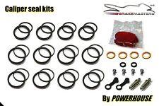 Suzuki GSX 1400 front brake caliper seal repair kit K4 K5 K6 2004 2005 2006