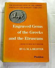 Engraved Gems of the Greeks and Etruscans History Greek Art in Miniature RICHTER